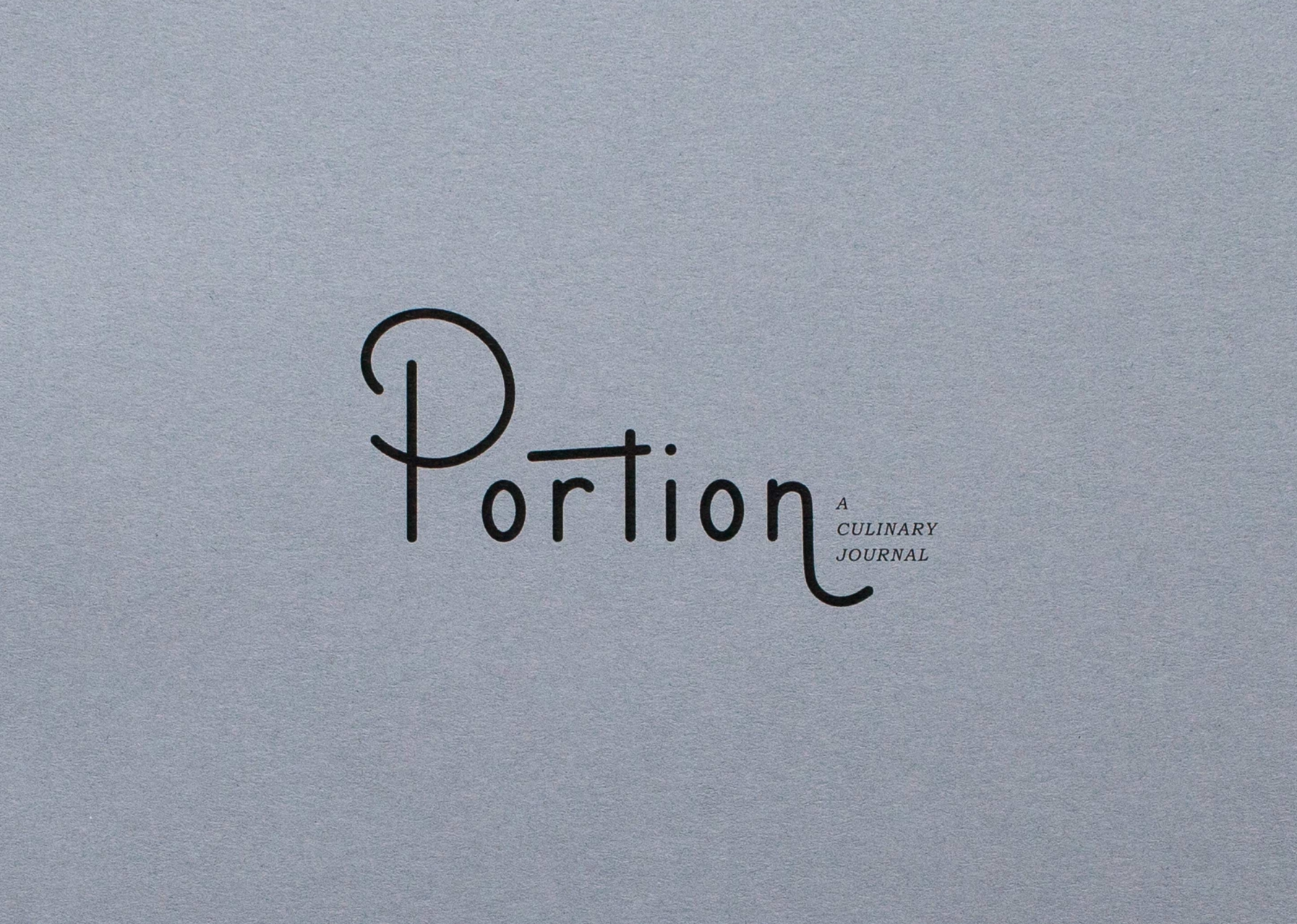 Portion — Cookbook